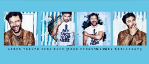 Aiden Turner Icon Pack by CupidWhisperer