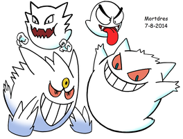 Pokemon Boo by Mortdres