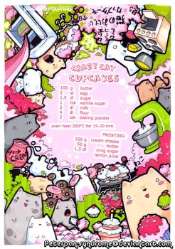 Crazy Cat Cupcakes by PeterPan-Syndrome