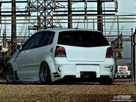 Volkswagen Polo GTI Widekit by Hossworks