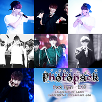 {Photopack #14} Baek Hyun (EXO) by Larry1042k1