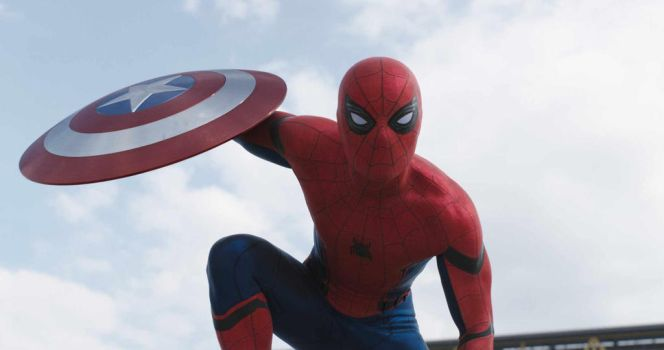 First Look at Captain America: CW's Spider-Man!!!! by Artlover67