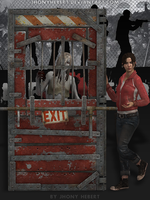 Door Safe House - Left 4 Dead by JhonyHebert