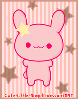 Pink Bunnie .:Remodeled:. by Cute-Little-Angel