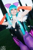 Morrigan - Darkstalkers by ThelemaTherion