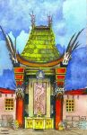 Graumans Chinese Theatre -L.A. by deviantmike423