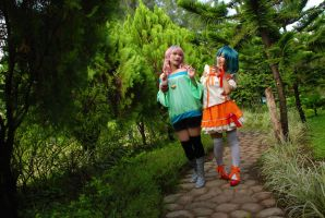 Macross F: Strolling by darkdiety