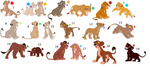 FREE !!!!!!!!!!!!!!!!! lion cub adoptables 13 by knowitall123-adopts
