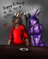 2012: Happy birthday, M-a-c-D by Snowfyre