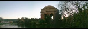 Palace of Fine Arts Panorama by Noobai