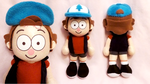 Dipper - Gravity Falls by Squisherific
