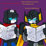 TF - Brotherly Luv Viper Style by plantman-exe