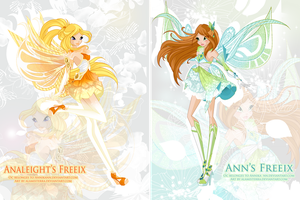 Analeight's and Ann's Freeix by alamisterra