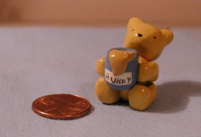 Classic Winnie the Pooh Figure by LeiliaClay