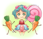 GUMI - Candy Candy by megane-inu