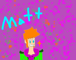 just a drawing of matt by eddsworldfanforever