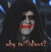 Darth Joker - Why so Sidious? by beeurd