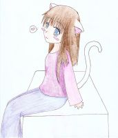 Me as a Kitty by lolo-loco