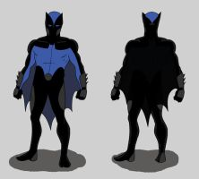 Dick Grayson as Batman by toekneearrows
