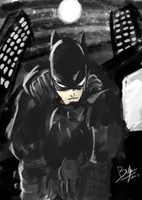 Bat-Man 1939 -noir- by joeybyk