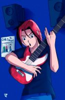 -I WANNA ROCK AND ROLL- by UchihaMatheus