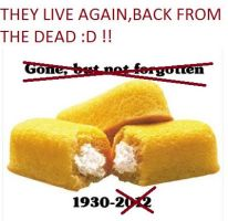 Twinkie-BACK FROM THE DEAD by dragonzero1980