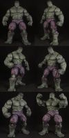 Custom Universe Hulk by Solrac333