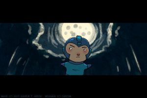 OMG MEGAMAN MOVIE by DrewGreen