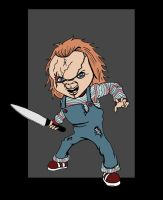 Child's Play Chucky by Jwpepr