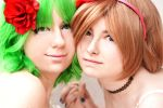 Gumi and Miko by PrincessShadowRamses