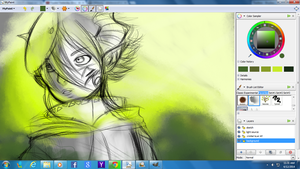 In the Green(W.I.P) by Mirokii-DH