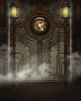 Steampunk background 8 by Kachinadoll