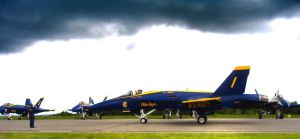 Blue Angel Taxiing by Sidneys1