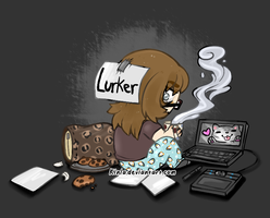 I don't use my Laptop by Kinla