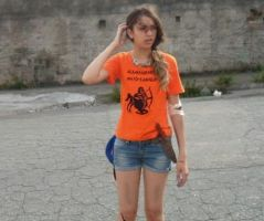 Cosplay Annabeth Chase, The Mark of Athena by SouQuione