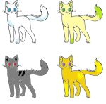 adoptables by smallpaw122