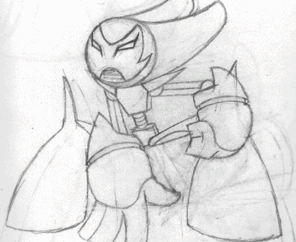 Superactivated Robotboy (art process gif) by TheBig-ChillQueen