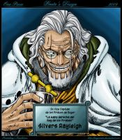Silvers Rayleigh - One Piece by reypirata