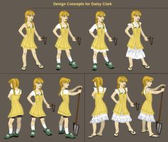Daisy Dress Concept by MusicalNumber