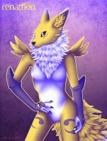 Digimon - Renamon by Essence-Of-Rapture