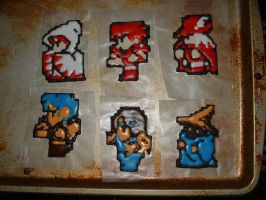 FF1 Royal Icing Transfers by Afina79
