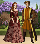 Perdita and Florizel by SingerofIceandFire