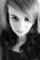 Me in black and white. by Katties-photography