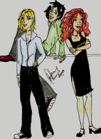 HPNG: Scorp, Al, and Rose by Gothicthundra