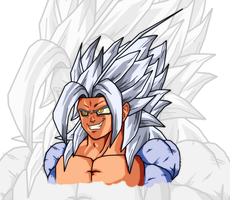 SSJ5 XEON: Colored by SSJLSW