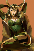 Lady Loki by HaphazardMachine