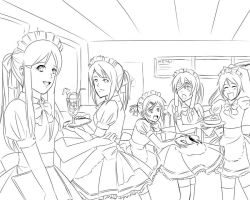 CR:Grand Opening Maid Cafe 27 by kairikazu
