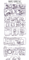 Hourly Comic Day 2012 by Lazulelle
