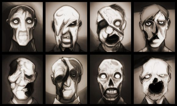 Faces of Extermination by bigdad