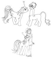 Why Centaurs Dont Do Chibi by merrypaws